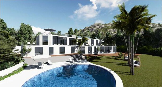 Refurbishment of a luxury villa