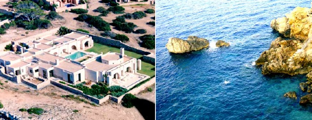 Spectacular villa in Cala Moli Ibiza