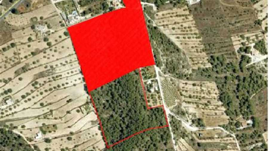 Large building plot in the area of San Agustin
