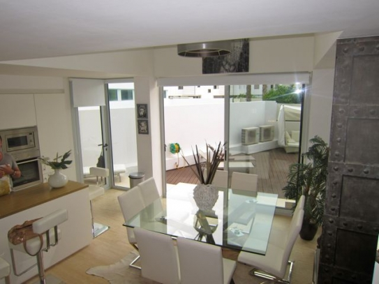Ground floor duplex in Ibiza center for sale
