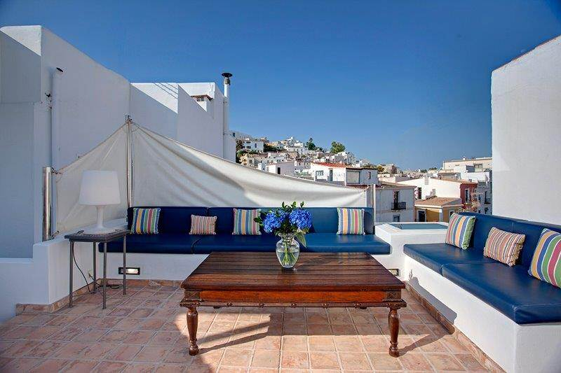 Luxury rustic 3 bedroom house in La Marina - Ibiza for sale