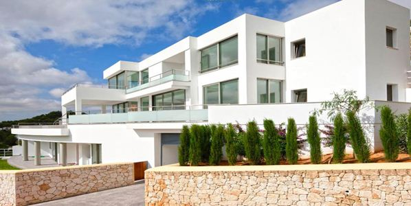 Luxury villa with panoramic views in Can Furnet for sale