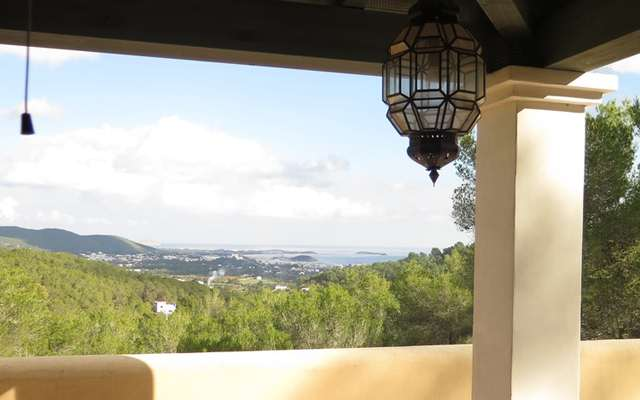 Villa overlooking the Bay of St.Eulalia