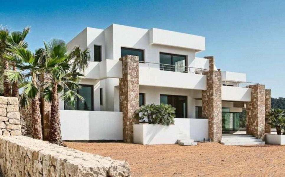 Luxury Villa with stunning views of the sea Salinas and Playa Bossa