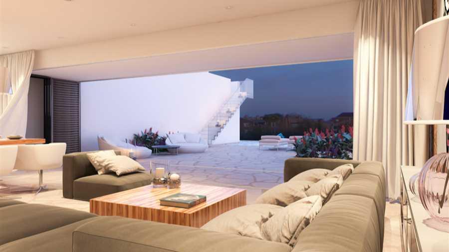 Modern villa in cala codolar for sale for Moderne villen von innen