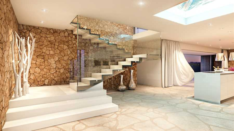 modern villa in cala codolar for sale. Black Bedroom Furniture Sets. Home Design Ideas