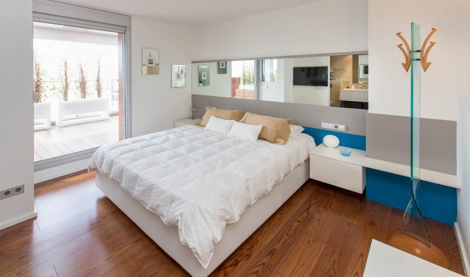 A luxury penthouse style in Marina Botafoch area's in an exclusive residential complex