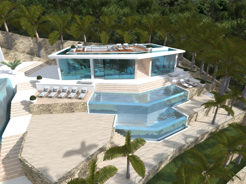 Luxury villa for the top 10 people the most exclusive for Amenajari piscine