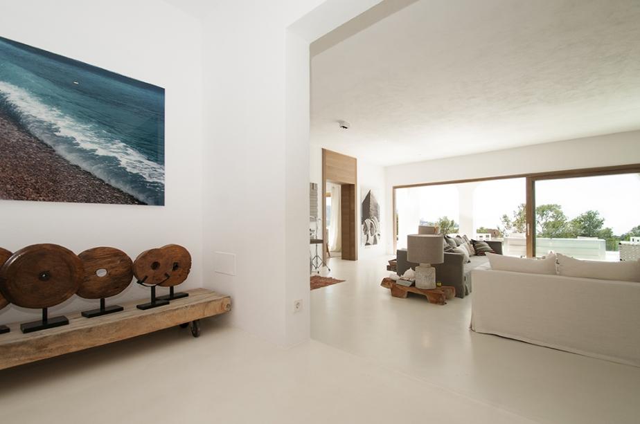 Luxury Designer villa overlooking the sunset in Cala Tarida