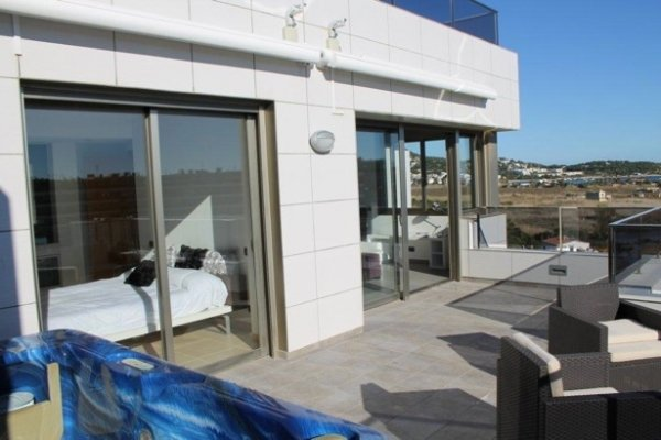 For rent 2 Bedroom Penthouse in Ibiza Marina Botafoch