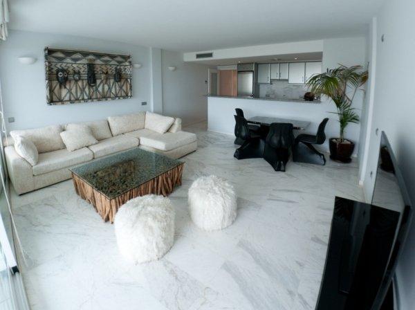 Beautiful luxury apartment in Ibiza Marina Botafoch for rent