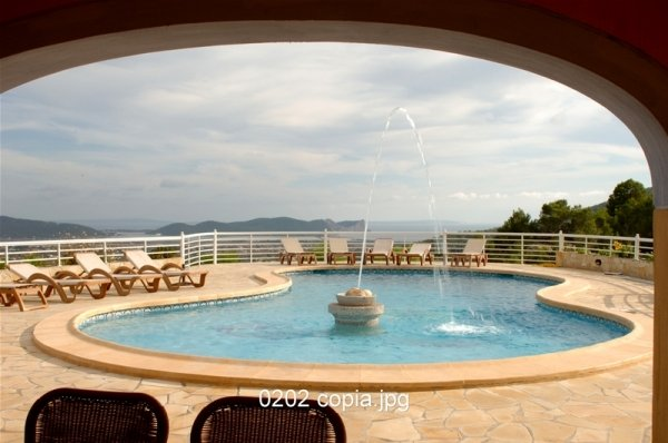 It offers 8 bedrooms Villa for sale in Ibiza