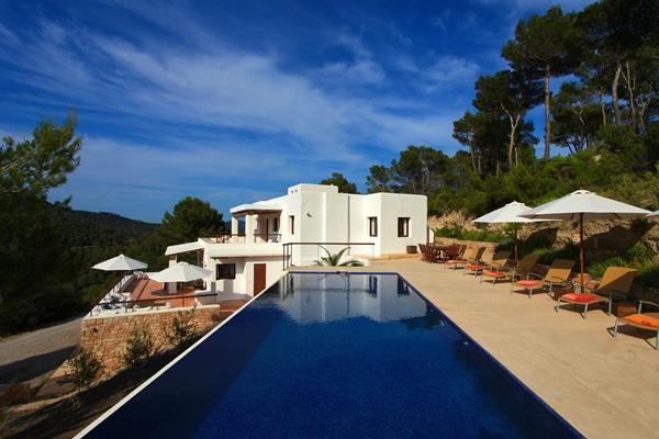 Modern luxury villa with magnificent views in Es Cubells