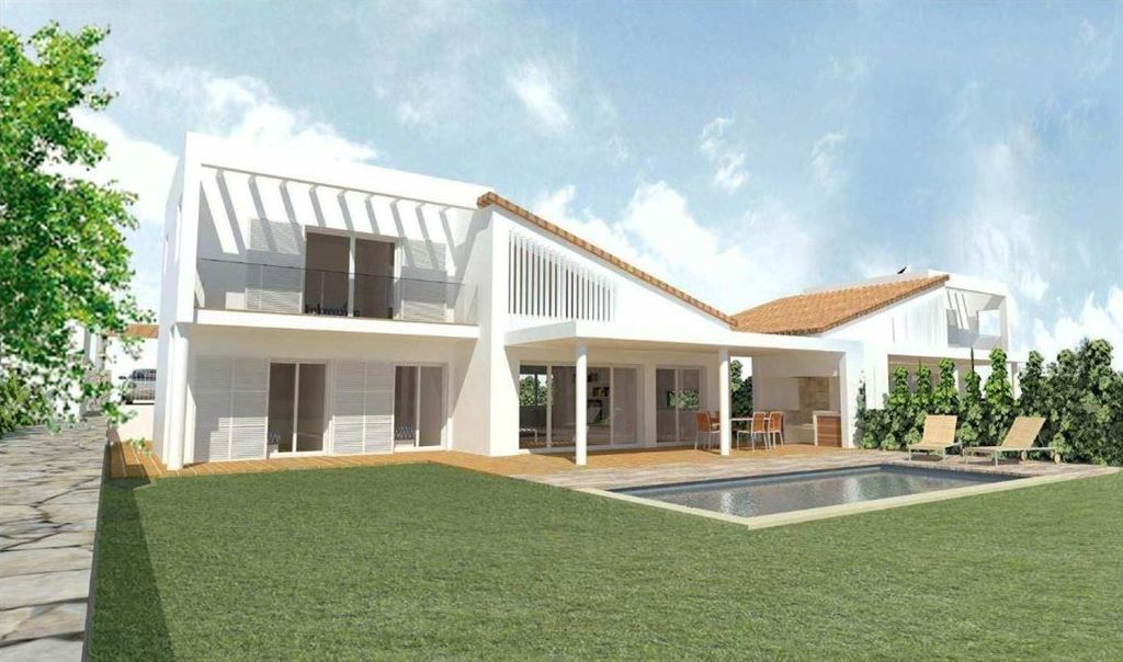 Villa with sea views in coves noves on Menorca