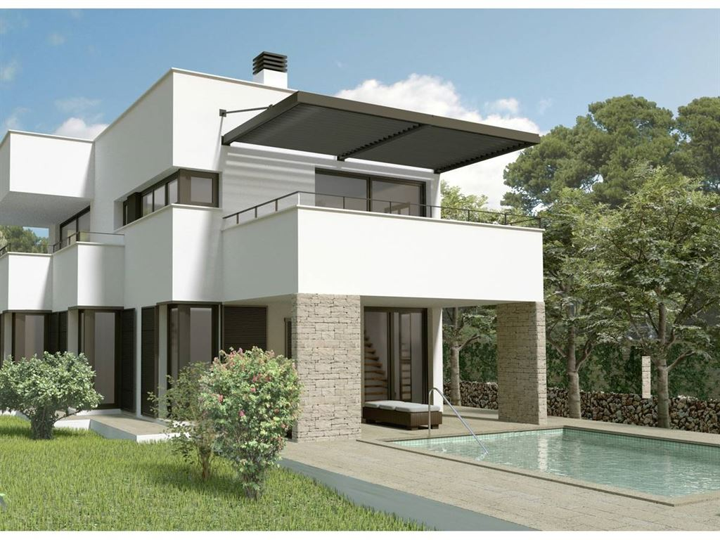 Villa under constructions in son vitamin on Menorca