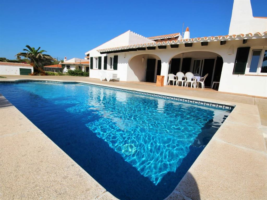 Villa in Cap den Font on Menorca