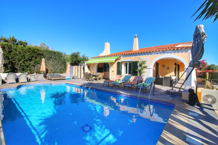 Beautiful villa in Menorca for sale in Punta Prima