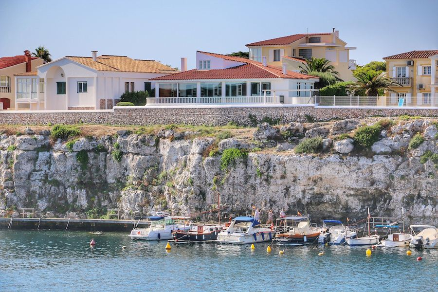 Modern property with sea views on the bay of Cala Fons with 398 sqm living space