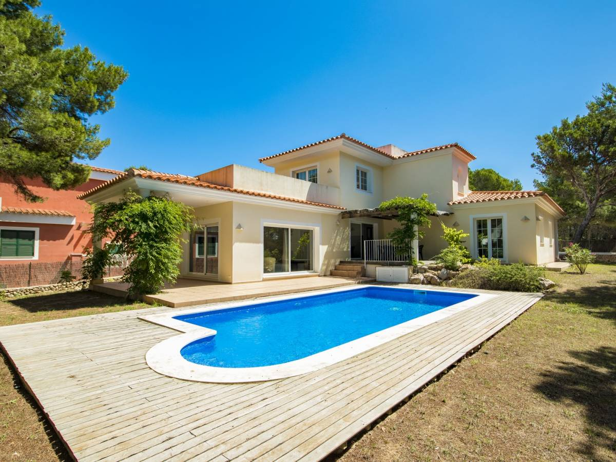 Wonderful villa in Son Parc in Menorca with luxurious ambience