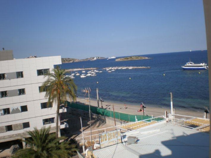 Three Bedroom Penthouse in Playa d'en Bossa Ibiza for sale