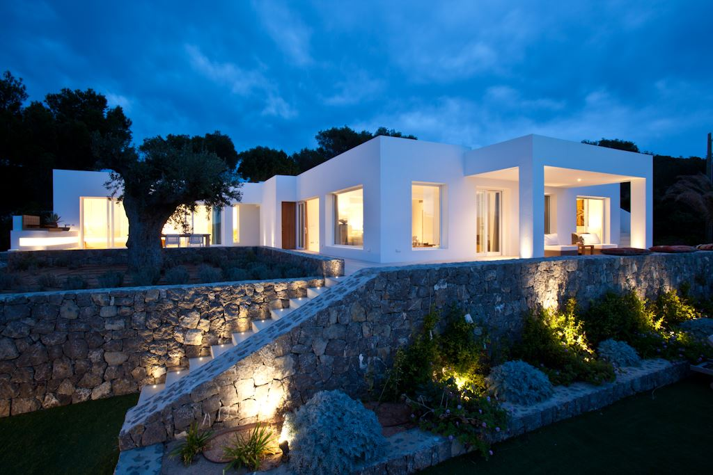 Stunning luxury villa for sale cap negret ibiza for Ibiza country villas