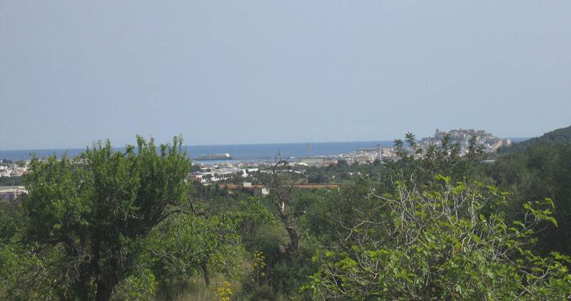 Large land in Ibiza San Rafael for sale