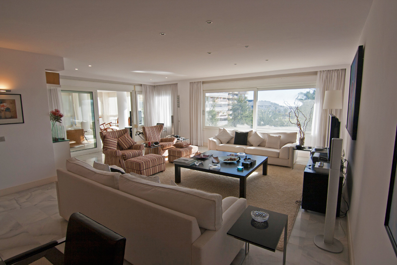 Luxury apartment with 4 bedrooms in Marina Botafoch sales