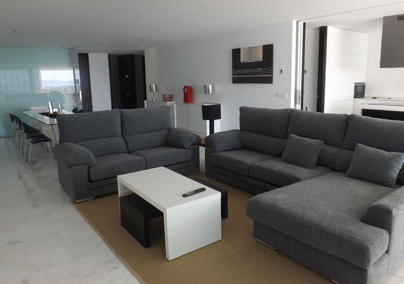 Four Bedroom Penthouse Es Pouet Talamanca for sale