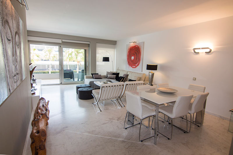 Beautiful luxury apartment 3 bedrooms near Playa d'en Bossa for sale
