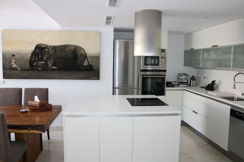 Nice four bedroom apartment for sale in Talamanca Ibiza