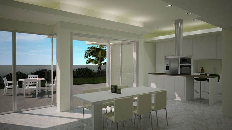 Four bedroom houses newly built villa in Jesus for sale