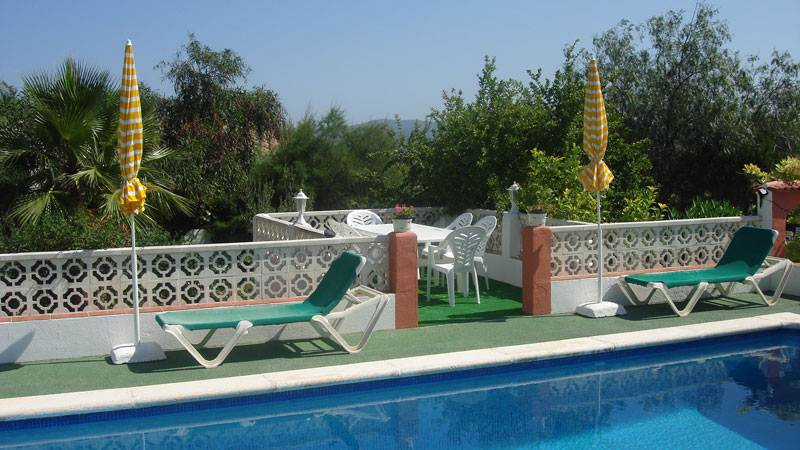 This beautiful 4 bedroom villa in Cala de Bou San Jose for sale