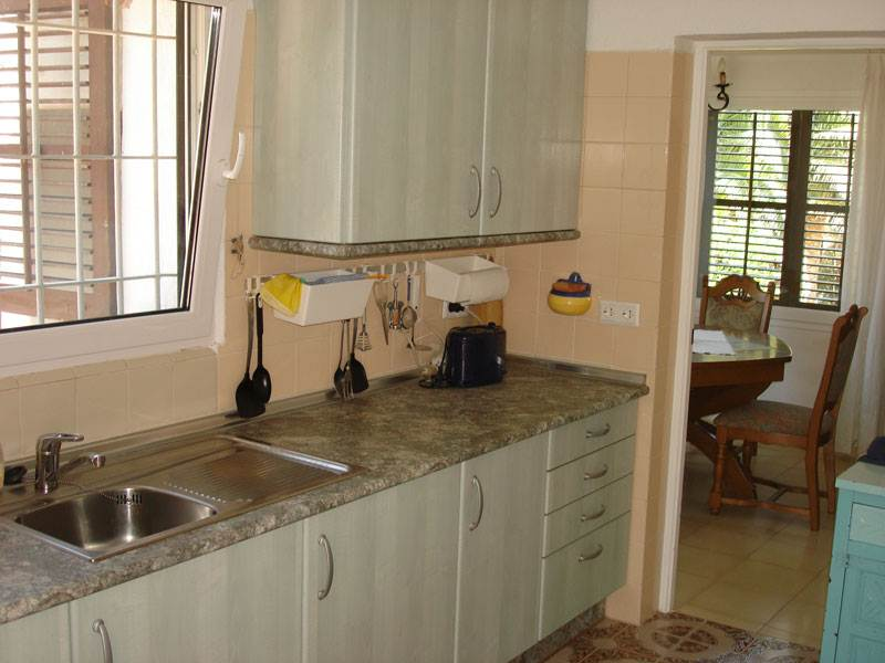This beautiful two bedroom house in Cala de Bou for sale