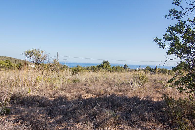 Large land for sale in Es Cubells San Jose