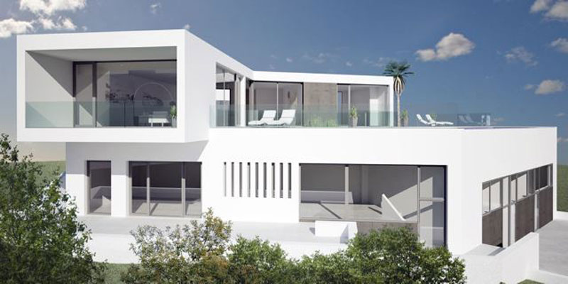 Luxury villa in Roca Lisa with beautiful views