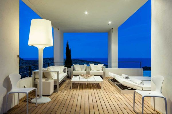 Luxury villa with four bedrooms in Roca Lisa Ibiza for sale