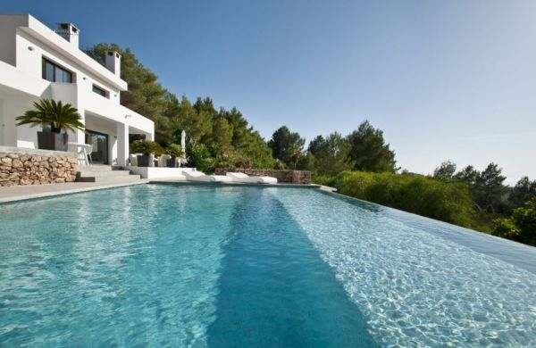 Modern four bedroom house for sale in Cala Tarida
