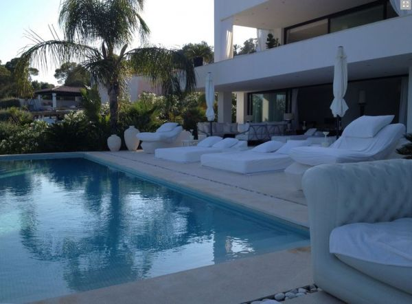 Modern luxury villa with seven bedrooms for sale in Es Cubells