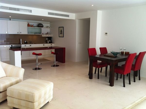 Beautiful luxury apartment with two bedrooms in Roca Lisa for sale