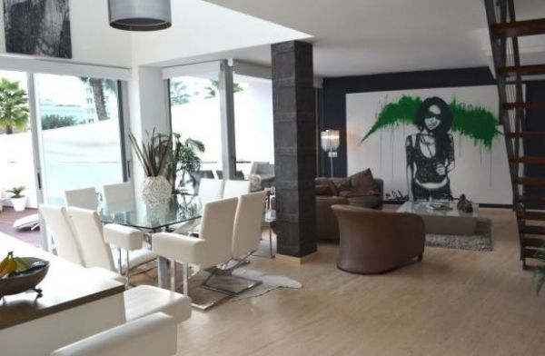 This modern duplex apartment with two bedrooms for sale