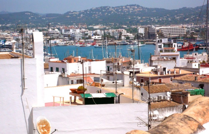 Beautiful two bedroom apartment in Dalt Vila Ibiza for sale
