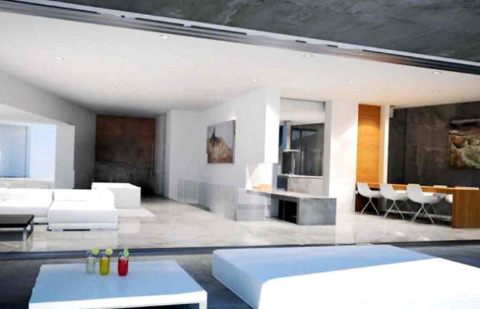 Luxury villa under construction for sale in Can Furnet