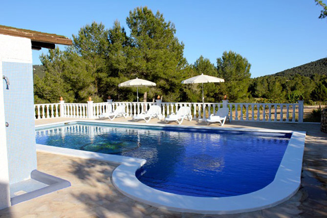 This luxurious five bedroom Villa is for sale in Santa Eulalia