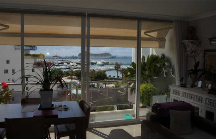 This beautiful two bedroom apartment is for sale in Marina