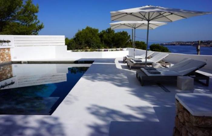 Modern villa in Cala Moli for sale with six bedrooms