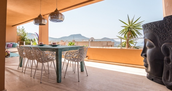 Apartment with fabulous views of Es Vedra Cala Carbo