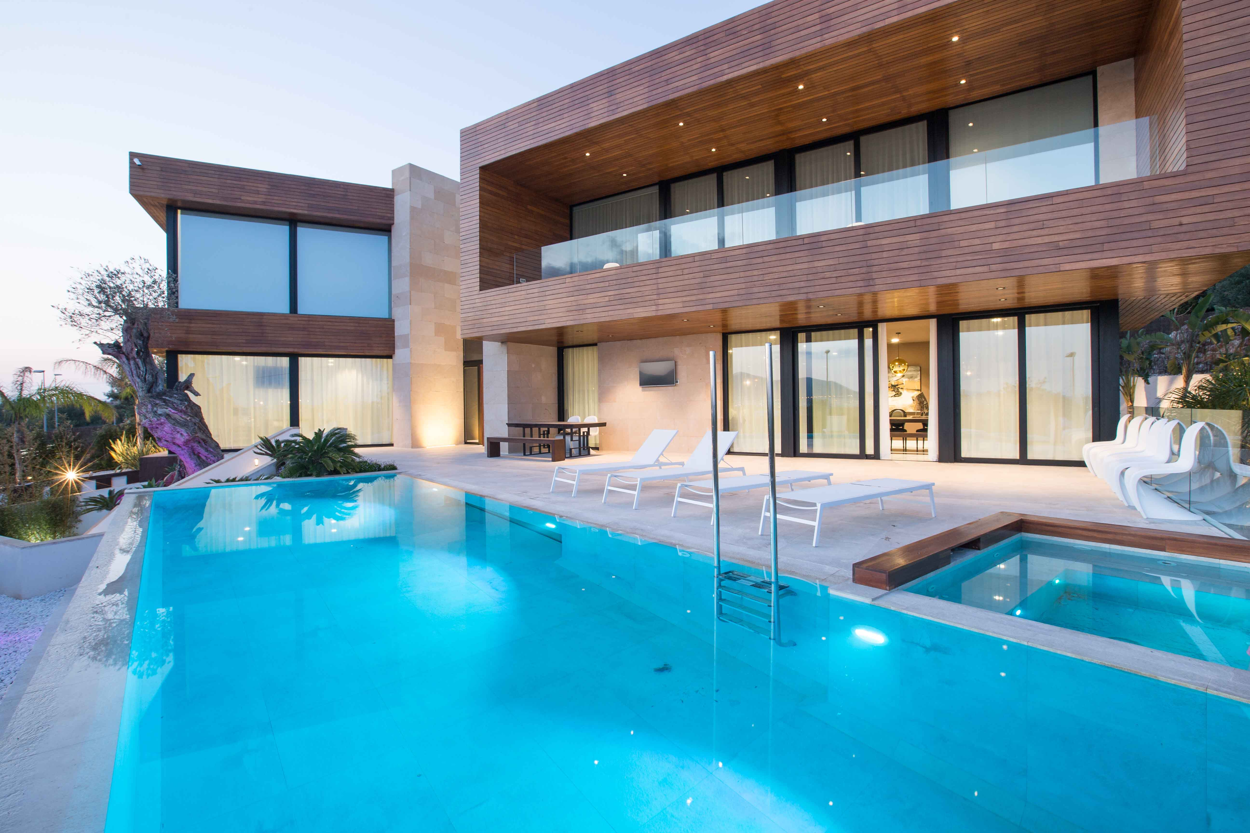 Villa Valeria is a very exclusive villa near Ibiza