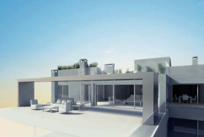 Modern building in Illa Plana for sale