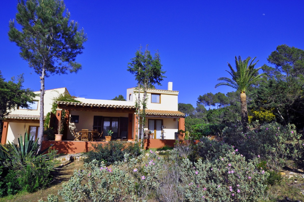 A beautiful villa in the west of Ibiza for sale