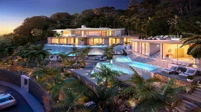 luxury villa for the top 10 people - the most  exclusive villa in Ibiza
